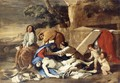 Lamentation over the Body of Christ 1628-29 - Nicolas Poussin