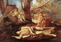 Echo and Narcissus 1628-30 - Nicolas Poussin