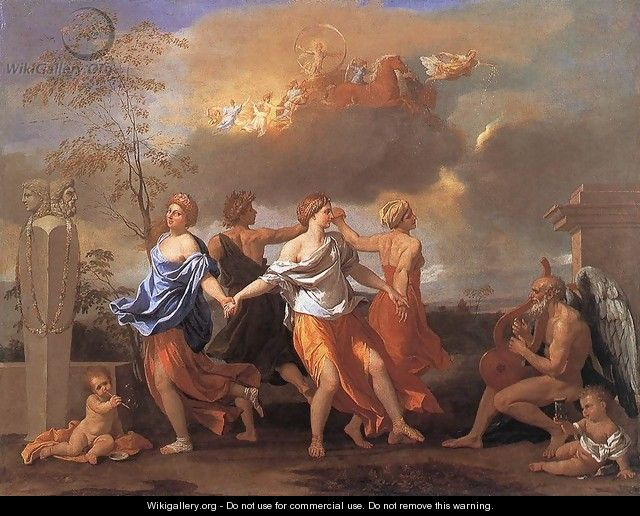 Dance to the Music of Time c. 1638 - Nicolas Poussin
