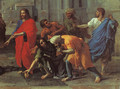 Christ and the Woman Taken in Adultery (detail) 1653 - Nicolas Poussin