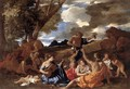 Bacchanal- the Andrians 1628-30 - Nicolas Poussin