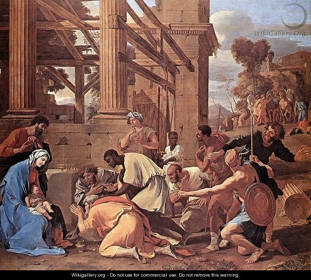 Adoration of the Magi 1633 - Nicolas Poussin