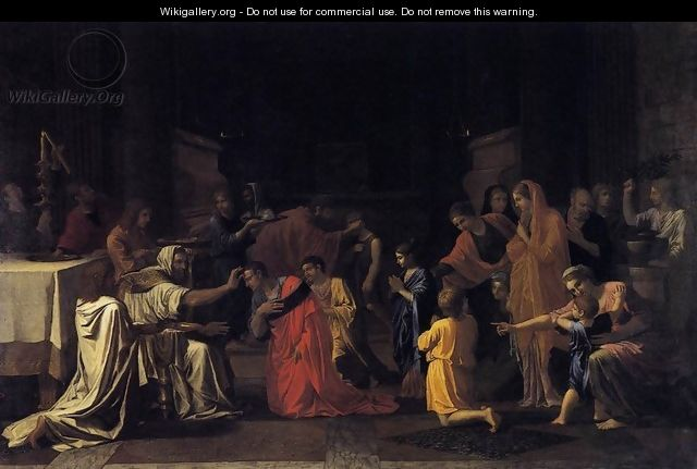 The Seven Sacraments- Confirmation 1645 - Nicolas Poussin