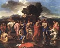 The Sacrament of Baptism 1642 - Nicolas Poussin