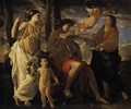 The Inspiration of the Poet c. 1630 - Nicolas Poussin