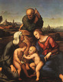 The Canigiani Holy Family 1507 - Raphael