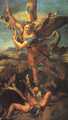 Saint Michael Trampling the Dragon 1518 - Raphael