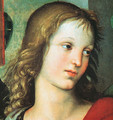 Detail from the Saint Nicholas Altarpiece 1500-01 - Raphael