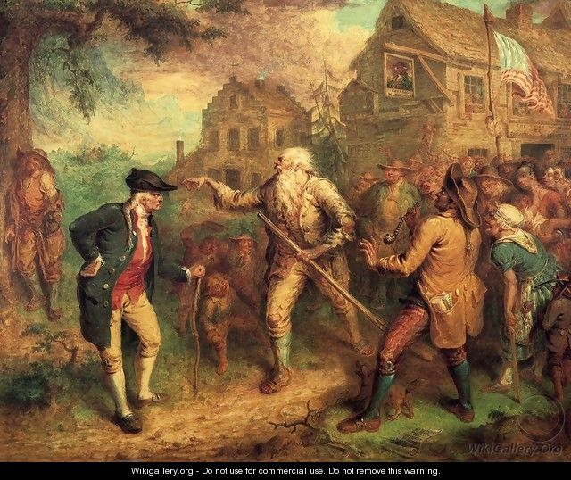 The Return of Rip van Winkle 1829 - John Quidor