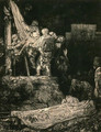 Descent from the Cross by Torch Light - Rembrandt Van Rijn