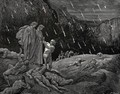 "The Inferno, Canto 15, lines 28-29: ""Sir! Brunetto! And art thou here?"" - Gustave Dore"