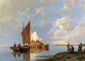 Off Volendam On The Zuiderzee - Pieter Christian Dommerson