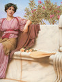 Tranquillity [detail: right] - John William Godward