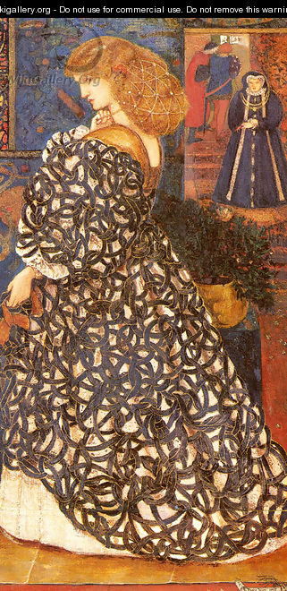 Sidonia von Bork - Sir Edward Coley Burne-Jones