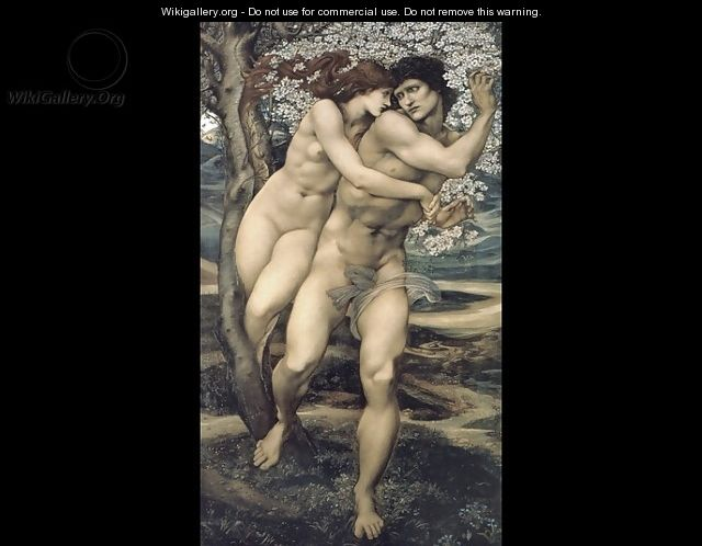 The Tree of Forgiveness - Sir Edward Coley Burne-Jones