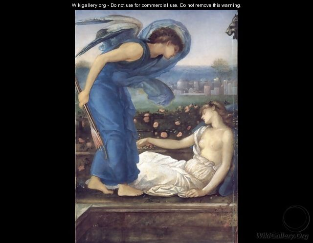 Cupid Finding Psyche - Sir Edward Coley Burne-Jones