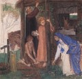 The Passover in the Holy Family: Gathering Bitter Herbs - Dante Gabriel Rossetti