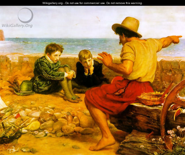 The Boyhood of Raleigh - Sir John Everett Millais