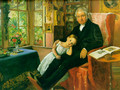 James Wyatt and His Granddaughter Mary - Sir John Everett Millais
