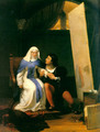 Fra Filippo Lippi Falling in Love with his Model - Paul Delaroche