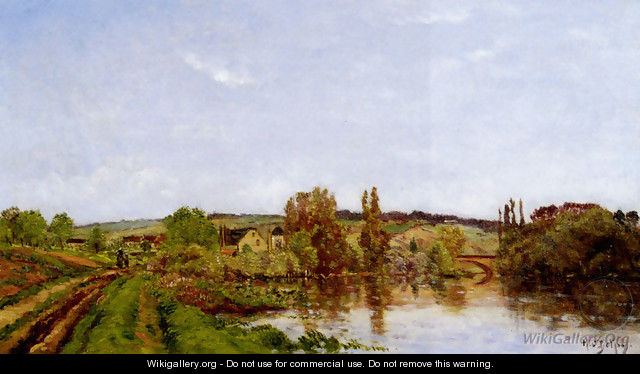 Walking Along The River - Hippolyte Camille Delpy