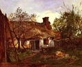 La Chaumiere A Berneval (Thatched Cottage in Berneval) - Hippolyte Camille Delpy