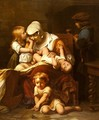 Juene Mere Et Ses Enfants (Young Mother and Her Children) - Paul Delaroche