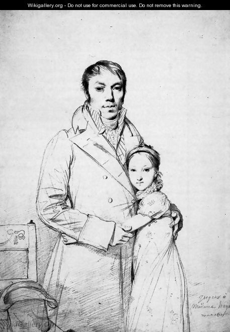 Charles Hayard and his daughter Marguerite - Jean Auguste Dominique Ingres
