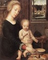 The Madonna of the Milk Soup - Gerard David