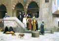 Leaving the Mosque - Jean-Léon Gérôme