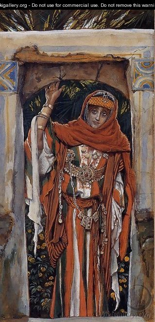 Mary Magdalene before Her Conversion - James Jacques Joseph Tissot