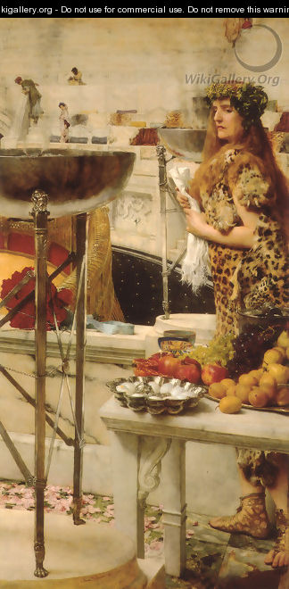 Preparation in the Coliseum - Sir Lawrence Alma-Tadema