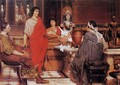 Catullus at Lesbia's - Sir Lawrence Alma-Tadema