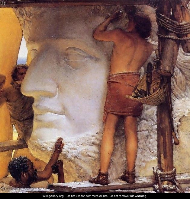 Sculptors in Ancient Rome - Sir Lawrence Alma-Tadema