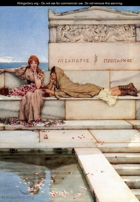 Xanthe and Phaon - Sir Lawrence Alma-Tadema