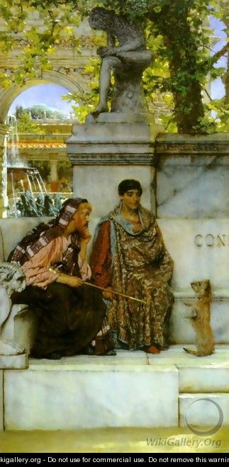 In the Time of Constantine - Sir Lawrence Alma-Tadema