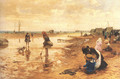 A day at the seaside - Alfred Glendening