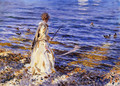 Girl Fishing - John Singer Sargent