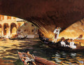 The Rialto (Grand Canal) - John Singer Sargent