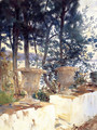 Corfu: The Terrace - John Singer Sargent