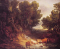 The Watering Place - Thomas Gainsborough