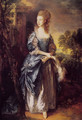 The Honourable Frances Duncombe - Thomas Gainsborough