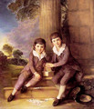 John and Henry Trueman Villebois - Thomas Gainsborough