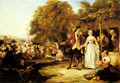 A May Day Celebration - William Powell Frith