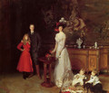 Sir George Sitwell, Lady Ida Sitwell and Family - John Singer Sargent