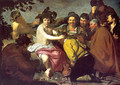 Los Borrachos (The Drunkards) (or The Triumph of Bacchus) - Diego Rodriguez de Silva y Velazquez