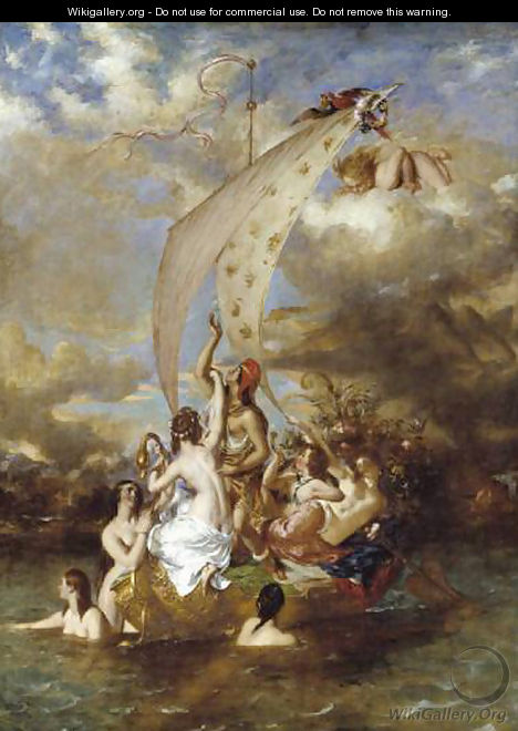 Youth at the Prow, Pleasure at the Helm - William Etty
