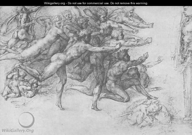 Archers shooting at a Herm - Michelangelo Buonarroti