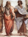 The School of Athens [detail: 1] - Raphael