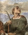 Disputation of the Holy Sacrament (La Disputa) [detail: 5] - Raphael